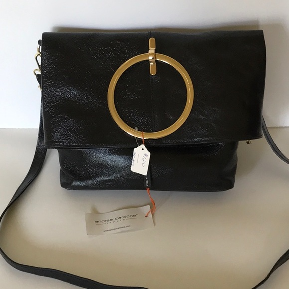 3d313f3836a7 Italian Leather Handbag by Andrea Cardone